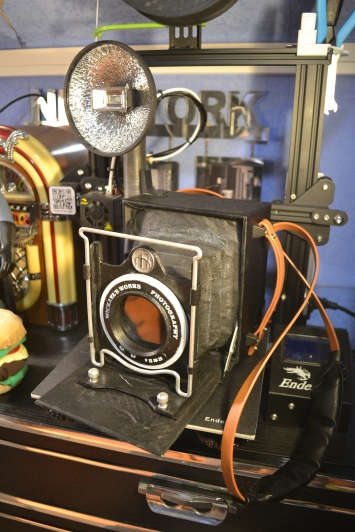 3D printing of an old camera