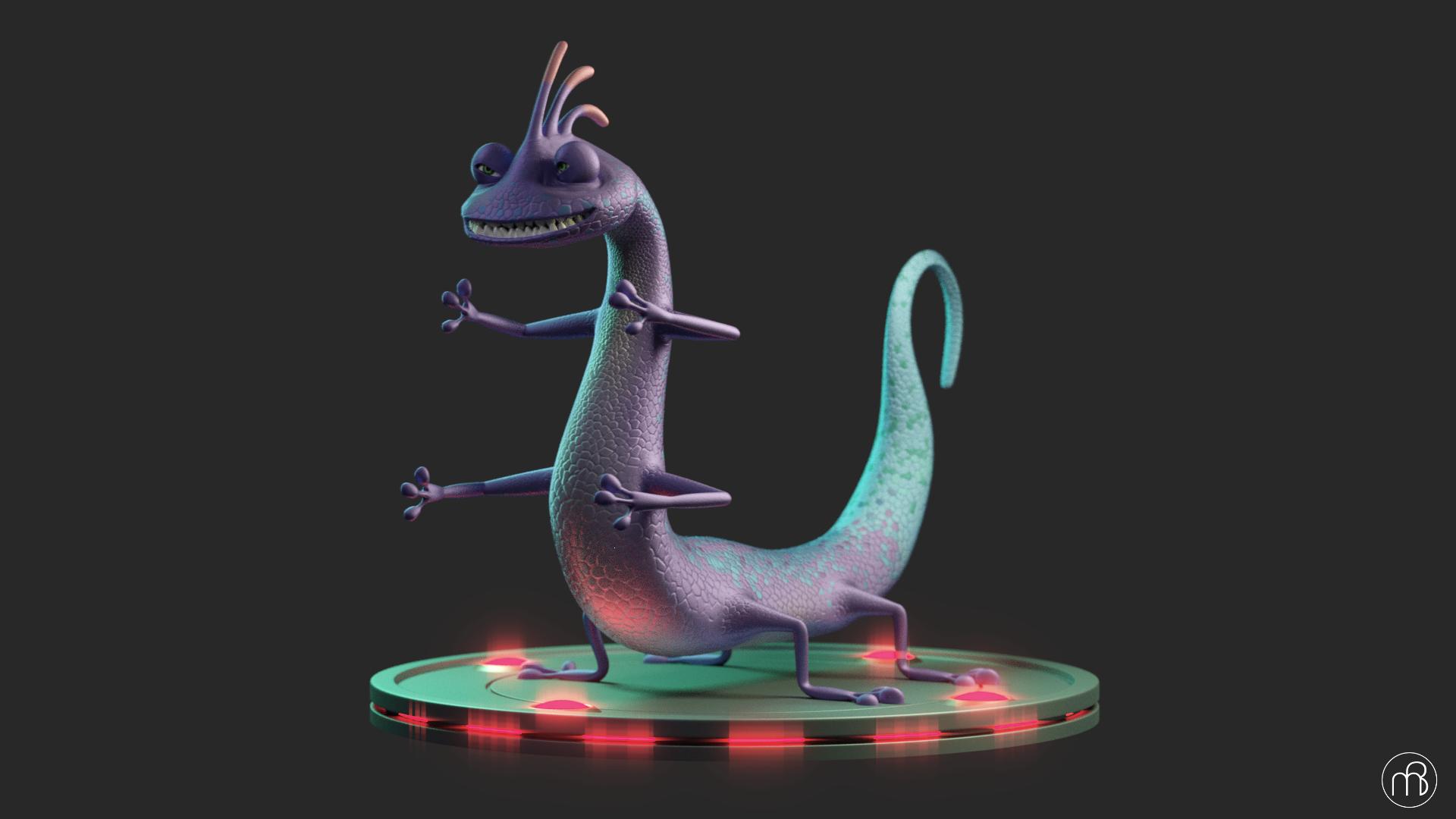 3D render of Randall Boggs